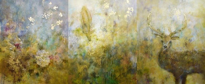 2016年 観○光(かんひかり)展に出展した「母なる自然」