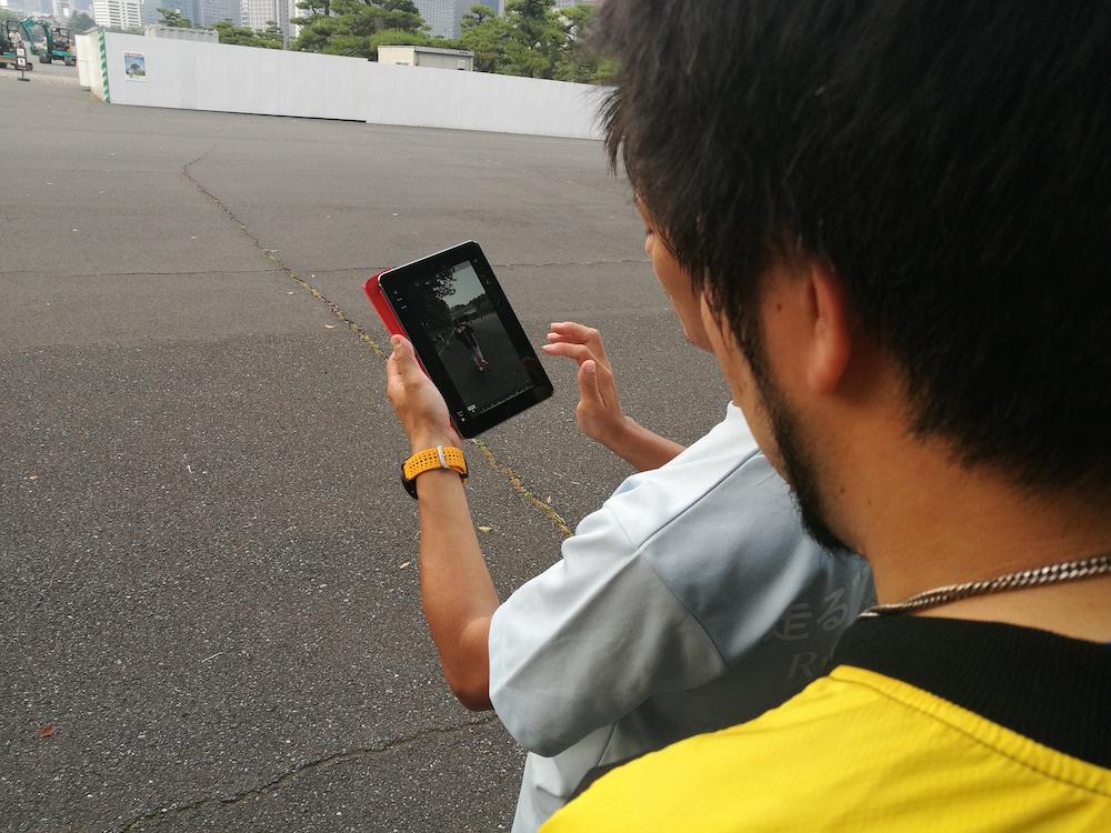 iPadを使って、録画&分析!