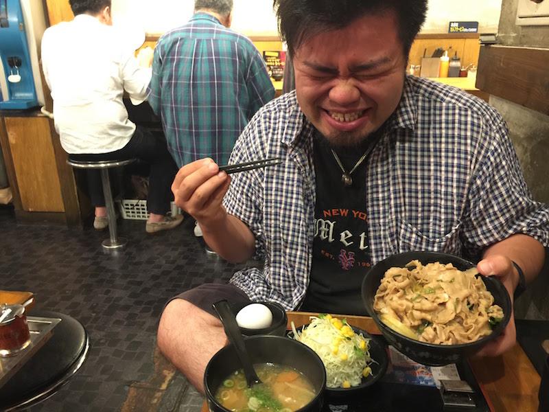 #3ヶ月健康チャレンジ 第1弾を終えたご褒美! 久しぶりの豚丼!!