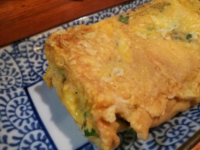エントリーNo.4 ニラが入ったふわふわの卵焼き(高知で獲れたニラは美味い!)