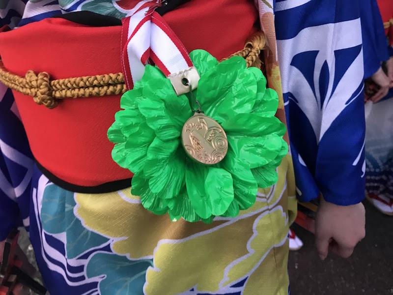 花メダル(通称)と呼ばれる特別なものもあります!